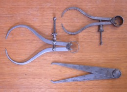 Calipers are tools used to measure and compare objects. Development of this type of tool was essential to the understanding of the evolution of definition, comparison, and measurement.