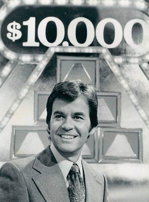 Pictured: Host Dick Clark