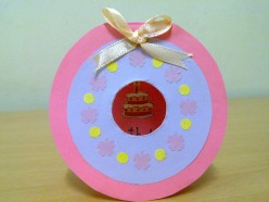 How to Make Little Girl Birthday Card