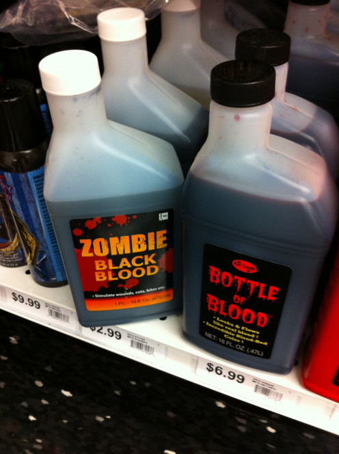 Options for blood (in large quantities!)