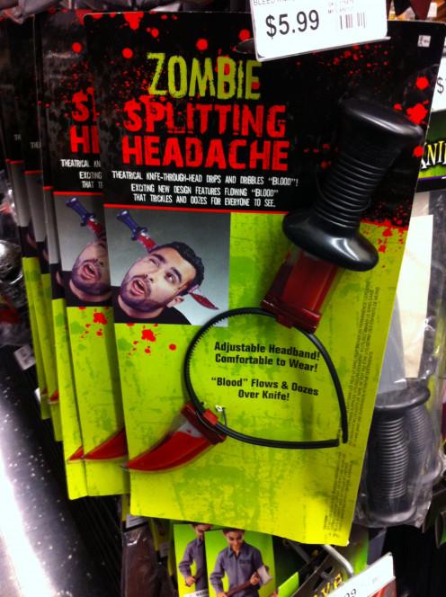 "Zombie ""Head Wound"""