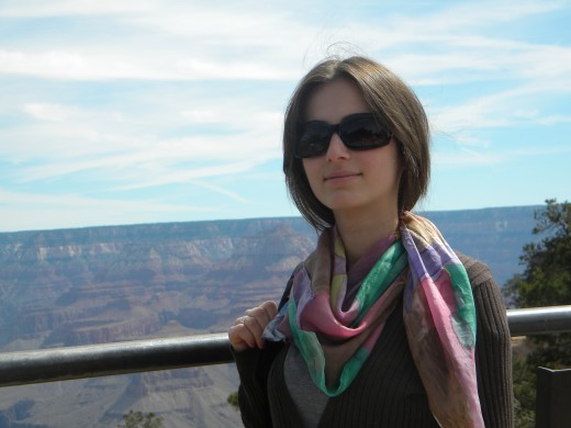 Ana, from the Republic of Georgia, was our first daughter. She returned a year later for a 6-week visit in which we took her to the Grand Canyon and Las Vegas.