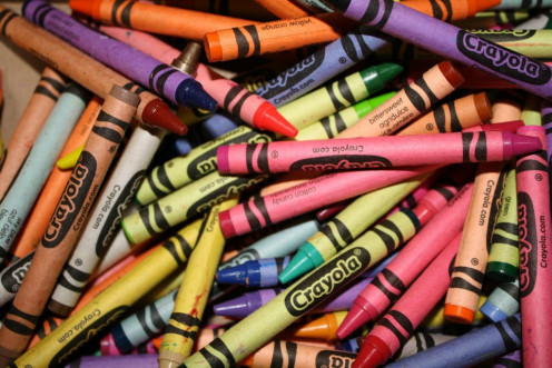 There are few things in this world that smell as fresh as a new box of crayons. Purchase one and enjoy some creative time with the family.