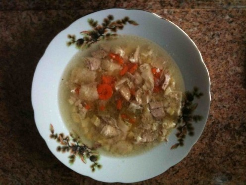 Chicken Bouillon Soup