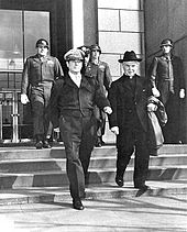 Father Edmund A Walsh and General Douglas MacArthur