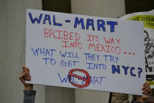 ALLEGATION AGAINST WALMART IN MEXICO
