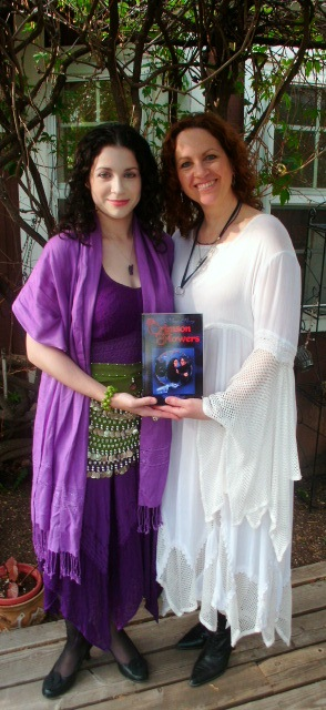 At book signing with Jasmine (my daughter)