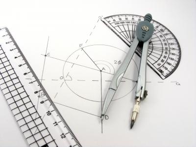 Geometry Diagram and Utensils