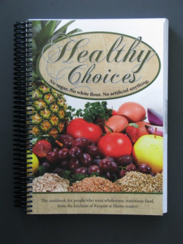Healthy Choices Amish-Mennonite Cookbook