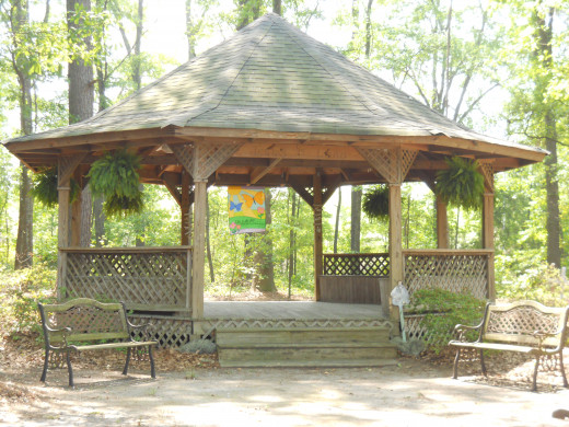 Gazebo was built in 1984 by James Watkins and his sons Jared, Trace, and Brad.