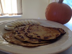 Paleo Breakfast: Pumpkin Crepes