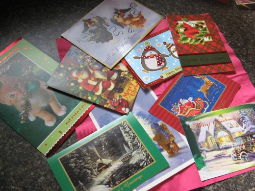 some of our Christmas Cards