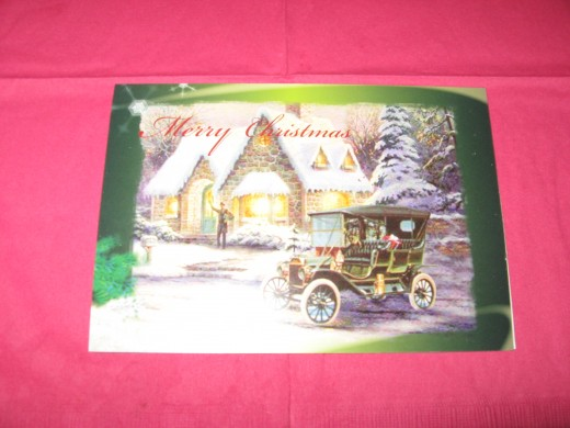 Thomas Kinkade Christmas Cards