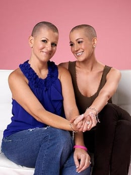 Kelly Pickler and her childhood friend Summer Holt Miller, who is battling Breast Cancer