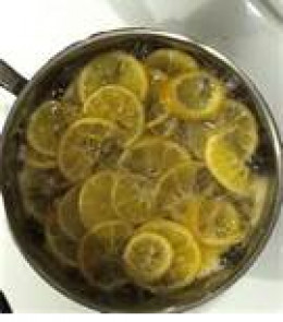 Boiling lemons