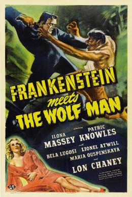 Frankenstein Meets the Wolfman (1943) poster