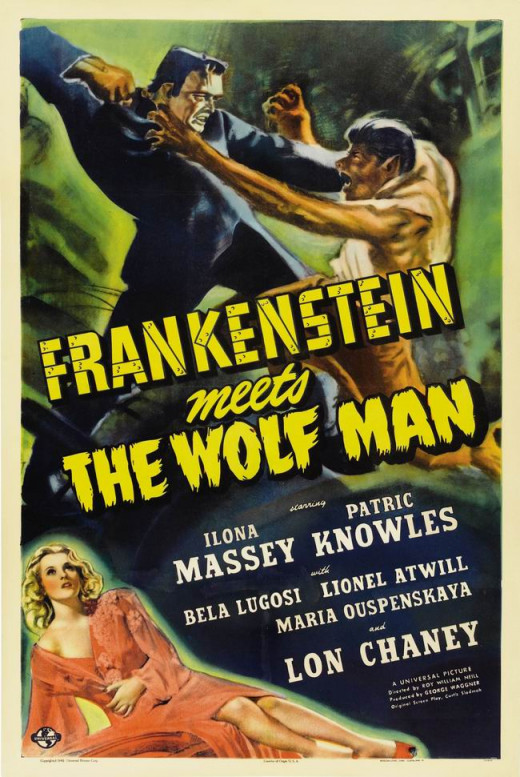 Frankenstein Meets the Wolfman (1943) poster