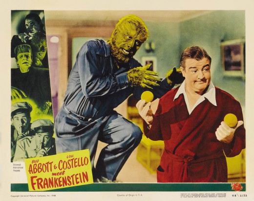 Abbott and Costello Meet Frankenstein (1948) Lobby card