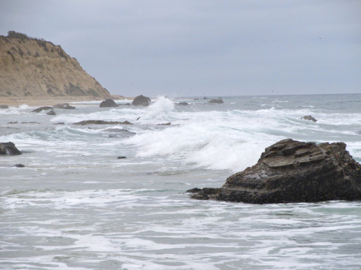 Southerly view of Crystal Cove, Newport Beach