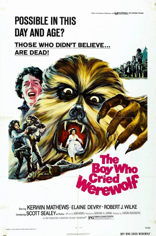 The Boy Who Cried Werewolf (1973) poster