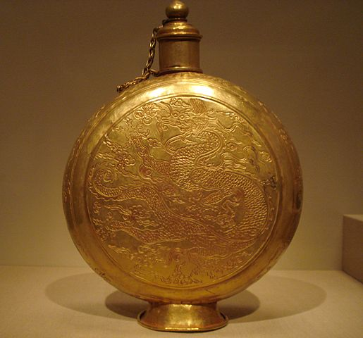 Gold is often a measure of wealth and wealth is often a measure of success. Ming Dynasty gold ornament.