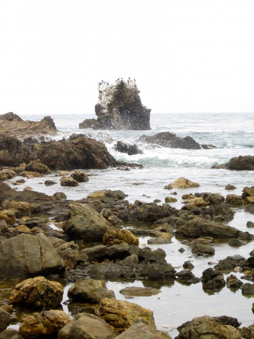 Sea Arch at Little Corona Del Mar