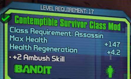 Borderlands 2 use assassin mod to increase health to defeat Bloodwing