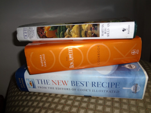 Cookbooks are a great source of inspiration