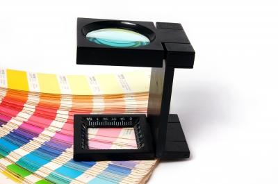 The College of Fine Arts is a graphic design school. Press colour management.