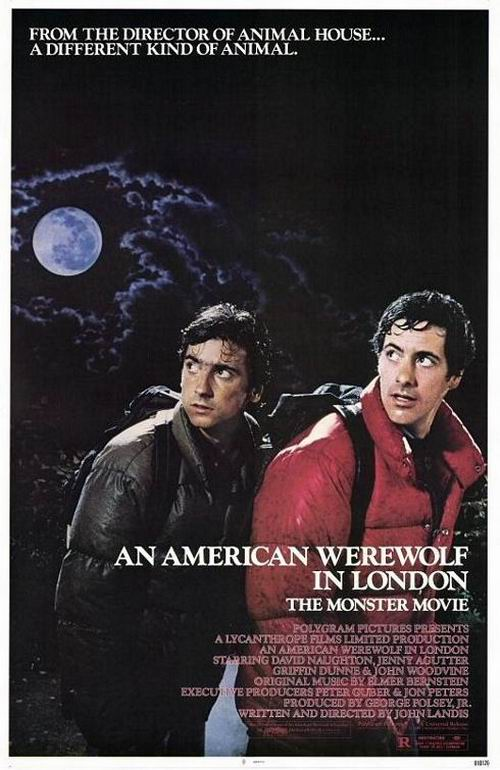 An American Werewolf in London (1981) poster