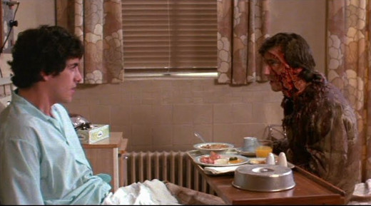 David Naughton and Griffin Dunne in An American Werewolf in London (1981)