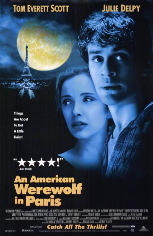 An American Werewolf in Paris (1997) poster