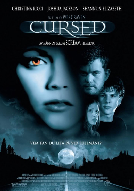 Cursed (2005) Swedish poster