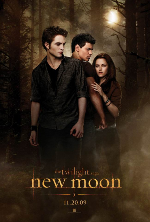 Twilight Saga: New Moon (2009) poster