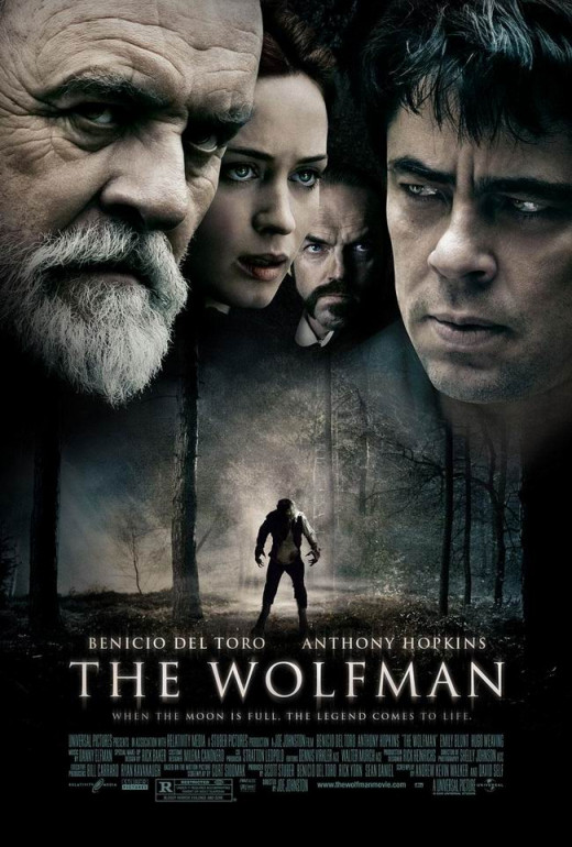 The Wolfman (2010) poster
