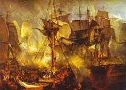 The Battle of trafalgar, 21st October, 1805