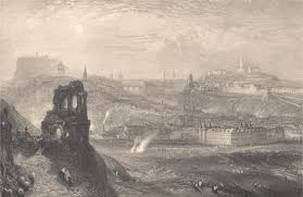 Edinburgh and its castle