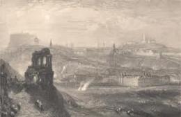 Edinburgh and its castle