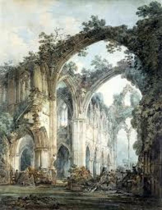 Transept of Tintern Abbey
