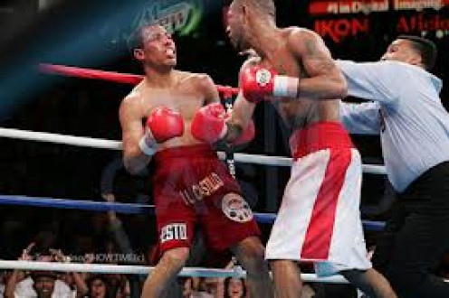 "Diego "" Chico"" Corrales VS Jose Luis Castillo was voted fight of the year and the bout was ebb and flow the entire time."