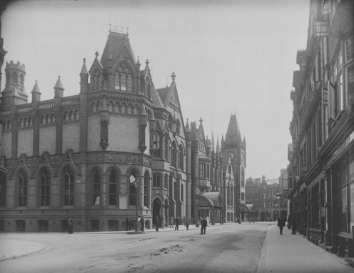 Reading Town Hall, c. 1900