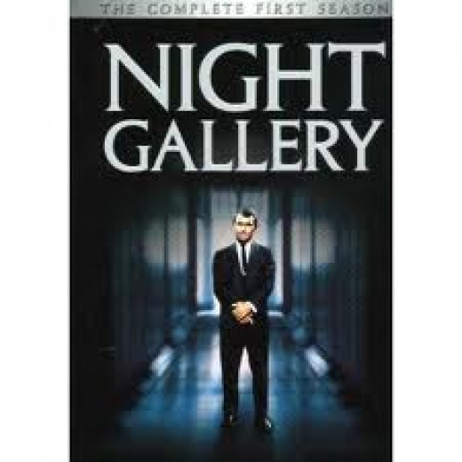 Night Gallery was a Rod Serling horror television show. Unlike Twilight Zone, these themes were strictly horror and demon related.