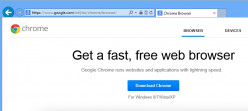 How to Install Google Chrome Browser on Windows 8