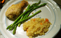 What to Eat When You're Broke - Breaded Italian Drumsticks - Cheap Dinners