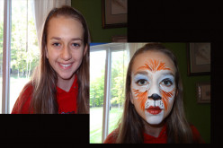 Face painting – Fox Face
