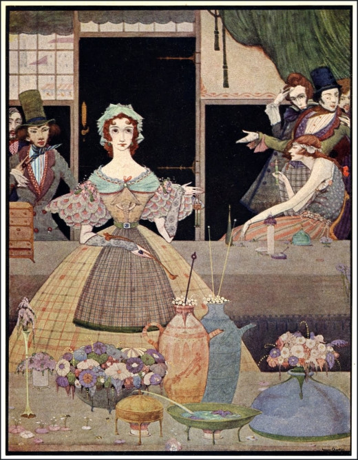 Harry Clarke: The Mystery of Marie Rogêt