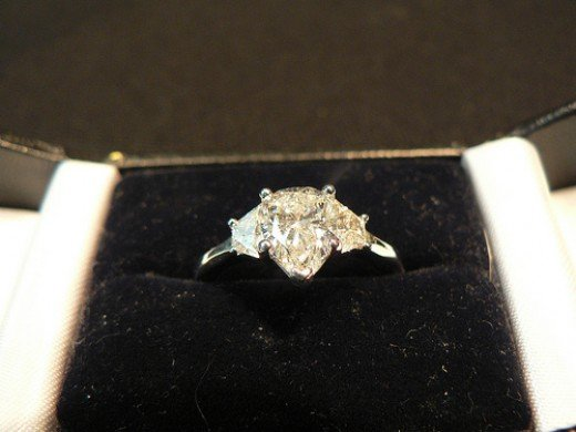 Jewelry, like a wedding or engagement ring, can often have a spirit attached to them.