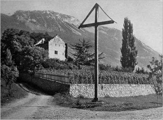 Chateau de Muzot in Sierre Switzerland