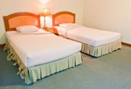 Share a hotel room with your travel companion to cut costs.