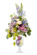 Tall Wedding Centerpieces:  Topiary to Trumpet Vase, Find the Best Arrangement Style.